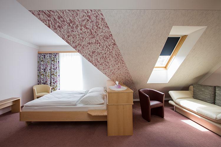 Gästehaus Eder Wachau Blick ins Zimmer